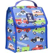 Wildkin Outdoor Travel Picnic Heroes Design Munch 'n Lunch Bag Blue by Wildkin