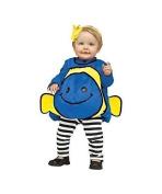 Fun World Costumes Baby's Giddy Goldfish Infant Costume by Fun World Costumes