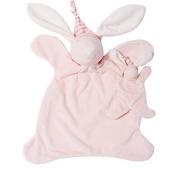 North American Bear Sleepyhead Bunny Jumbo Baby Cosy Set, Pink by North American Bear