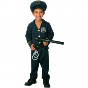 Jr. Policeman Toddler Costume by Paper Magic