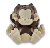 Baby Monkey See, Speak, Hear No Evil Coin Bank 11cm . by Things2Die4