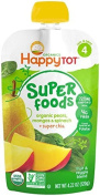 Happy Family happy tot Purees - Spinach Mango and Pear - 120ml - 8 Pk by Happy Family
