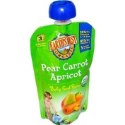 Earth's Best Organic Stage 3 Pear Carrot Apricot Baby Food Puree by Earths Best Baby Foods