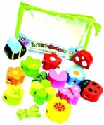 Meadow Kids In The Garden Wooden Threading Beads by Meadow Kids