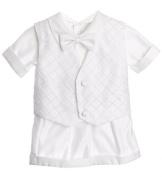Classykidzshop White Boy Baptism Outfit B5 by Classykidzshop