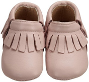 Old Soles Fringe Bootie (Inf/Tod) - Powder Pink-22 (15- .   by Old Soles