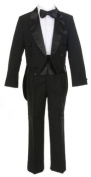Sweet Kids Baby-Boys 5 pc Tuxedo Suit With Tails by Sweet Kids