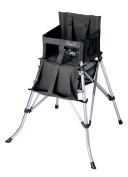 Creative Outdoor Folding High Chair, Black by Creative Outdoor