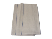 2 X Large Heavy Duty Thick 100% Cotton Chefs Professional Catering Quality Kitchen Oven Cloths