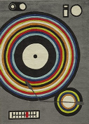 Momeni Lil Mo Hipster Records, 4 x 6 by Momeni