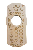 Organic Wooden Remote Teether
