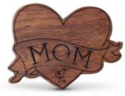 Finn + Emma | Wood Rattle Teether | Baby Boy | Mom Tattoo | 100% Organic & Eco-Friendly | Made in India