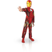 Rubie's Official Child's Marvel Avengers Assemble Iron Man Classic Costume - Medium