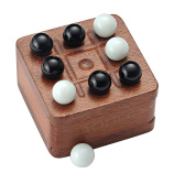 Noughts and Crosses - 3 in a Row Travel Size - Jaques of London