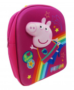 Peppa Pig Children's Backpack, 6 Litres, Pink