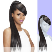 BP-FENDY (Vivica A. Fox) - Heat Resistant Fibre Ponytail in JET BLACK