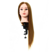 Head Model, Hatop New Fashion Hair Training Practise Top Model Doll Beauty & Clip