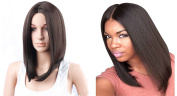 New Fashion Shoulder-Length Women Wigs Natural Straight Heat Resistant Firber Wigs