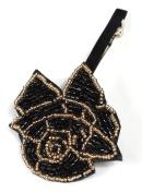 CAETLE Women Girl Beauty Rose Flower Crystal Hair Clip Head Wear Holder