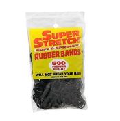 Super Stretch Rubber Bands, 500 Each