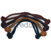 Jumbo Knotted Hair Tie Set of 4 // great for natural hair, dreadlocks and thick hair