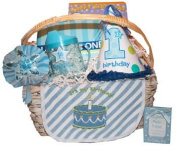 First Birthday Gift Basket for Boys