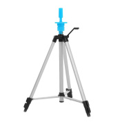 Anself Adjustable Wig Head Tripod Stand Mannequin Hairdressing Training Tripod Holder With Carry Bag