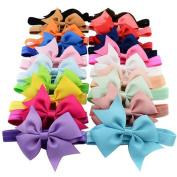 FEITONG 20PCS Baby Girls Elastic Headbands