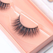 Arimika Natural 3D Authentic Mink False Eyelashes For Makeup 1 Pair Pack