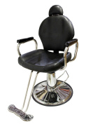 TMS All Purpose Reclining Hydraulic Barber Chair Salon Beauty Spa Shampoo Equipment