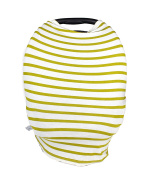 Baby Car Seat Cover – Multi-Use Infant Carrier Canopy and Breast Feeding Cover – Great for Protection and Nursing -