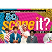 80's Scene It Game With DVD Radical Trivia Questions, Model