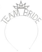 Crystal Ave Women's Bridal Party Crystal Tiara Headband
