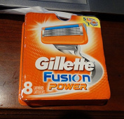 Gillette Fusion Power 8 Pack 6-Blade Cartridges NEW