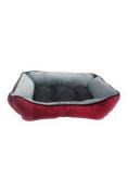Pet Maison Houndstooth Cuddler Pet Bed Pet Bed
