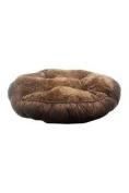 Pet Maison Faux Fur Tufted Round Pet Bed Pet Bed