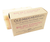 Big Sky Country Sage, Lemongrass, Mint Herbal All-Natural Soap