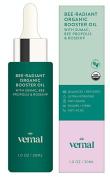 Vernal Bee-Radiant - Organic Collagen Booster Face Oil - USDA Certified Organic Potent Antioxidant Complex W/ Bee Propolis & Rosehip Oil, Jojoba Oil, Lavander. Brighten, Smooth, Anti Ageing - 30ml