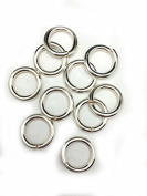 10 Sterling Silver Round Open Jump Rings 12.6mm 12 Gauge by Craft Wire