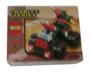 educational building block toy. golden arrow chariot army military series