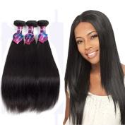 Mornice Hair 10A Peruvian Virgin Hair 3 Bundles 46cm 50cm 60cm Straight Human Hair Extensions 100% Unprocessed Natural Colour