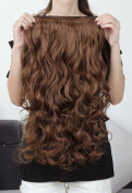 SARLA 50cm 1PC 3/4 Full Head Synthetic Hairpieces Wave Clip In Hair Extensions Heat-friendly Fibre 888