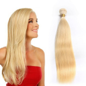 Tuneful Hair 30cm Remy Human Hair Extensions 7A Human Hair Weave Blonde #613 Brazilian Straight Hair