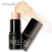 Lookatool BLING Focallure Highlight Powder Stick Gold Shade And Silver
