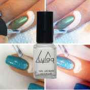 Professional Nail Art, RIUDA lulaaPeel Off Liquid Tape Latex Tape Peel Off Base Coat Nail Art Liquid Palisade