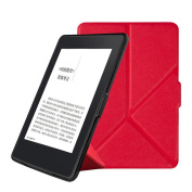 SmartShell Case for Kindle Paperwhite, for Amazon Kindle Paperwhite 1/2/3 15cm ,Magnetic Auto Sleep PU Leather Cover by Sunfei