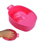 Biutee 2pcs New Acrylic Nail Soaker Bowl Art Tips Soakers Tray Polish Gel Treatment Remover Manicure Off Bowls Tools