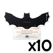 [Wish Formula] The Bat Eye Mask With Centella Honey Fermented Essence - 10pcs