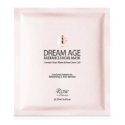 Rose by Dr.Dream Dream Age Radiance Facial Mask Sheet 27ml (0.9fl.oz.) 6pcs Set
