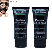 Shills Purifying Blackhead Acne Remover Peel Mud Deep Cleaning Anti Ageing Facial Mask - 2 PACK